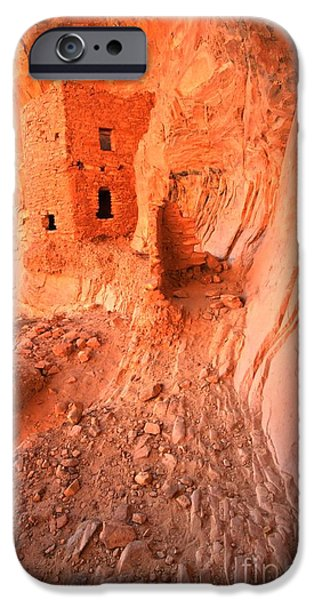 Overhang iPhone Cases - Butler Wash Ruins iPhone Case by Adam Jewell