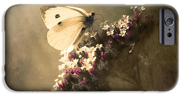 Floral Photographs iPhone Cases - Butterfly Spirit #01 iPhone Case by Loriental Photography