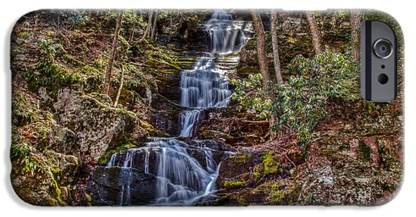 Buttermilk Falls iPhone Cases - Buttermilk Falls iPhone Case by Don Edwards