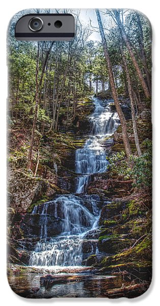 Buttermilk Falls iPhone Cases - Buttermilk Falls - Natures beauty iPhone Case by Don Edwards