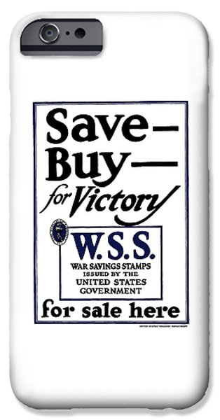 Savings iPhone Cases - Buy For Victory iPhone Case by War Is Hell Store