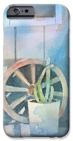By The Side Of The Shed iPhone Case by Arline Wagner