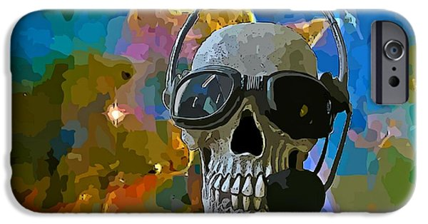 Disc iPhone Cases - By the Time You Receive this Message iPhone Case by John Malone