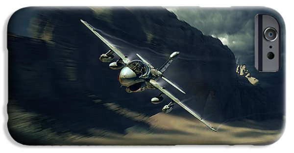 Wwi iPhone Cases - Bye Bye Prowler iPhone Case by Peter Van Stigt
