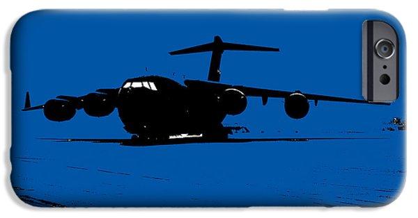 Iraq Prints iPhone Cases - C-17 Globemaster III iPhone Case by John Bainter
