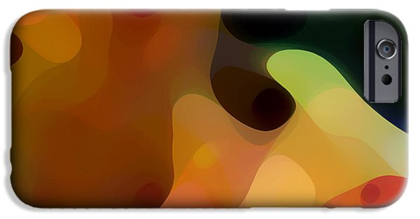 Abstract Forms iPhone Cases - Cactus Fruit iPhone Case by Amy Vangsgard