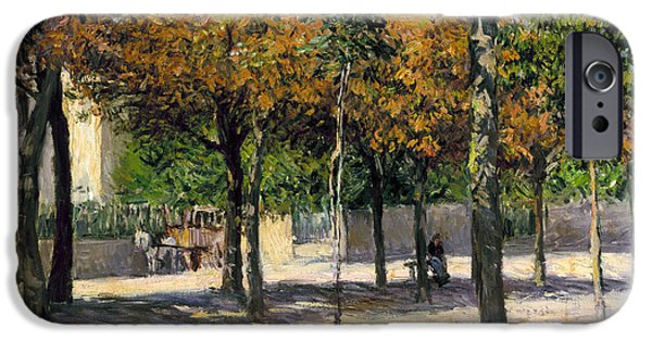 1880s iPhone Cases - Caillebotte: Argenteuil iPhone Case by Granger