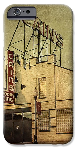 Cain's Ballroom iPhone Case by Tamyra Ayles