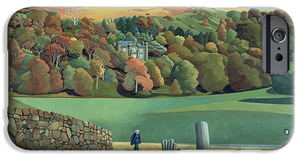 Mansion iPhone Cases - Calgary House - Isle of Mull  iPhone Case by Anna Teasdale