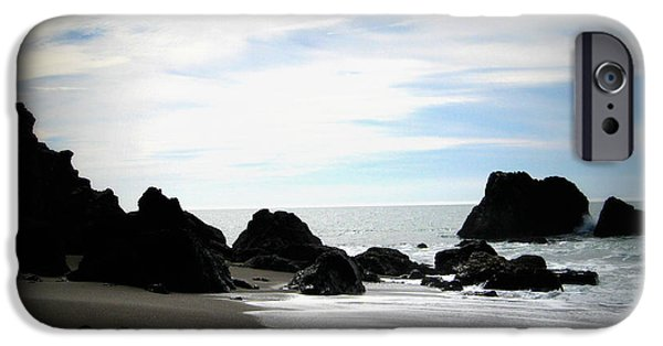 Bodega Bay iPhone Cases - California Coast IV iPhone Case by Mg Rhoades