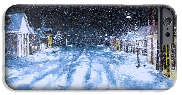 Concord. Winter iPhone Cases - Call out the Plows iPhone Case by Jack Skinner