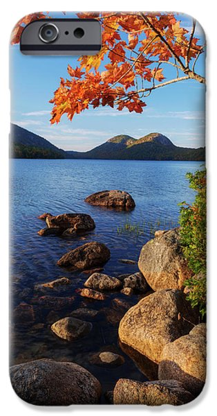 Jordan iPhone Cases - Calm Before the Storm iPhone Case by Chad Dutson