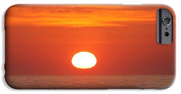 House Md Art iPhone Cases - Calm Seas Sunrise iPhone Case by Robert Banach
