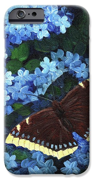 Butterfly iPhone Cases - Camberwell Memory iPhone Case by Laura Iverson