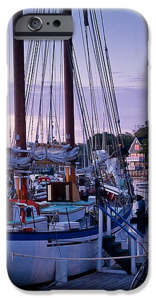 Camden Windjammer Dawn iPhone Case by Susan Cole Kelly