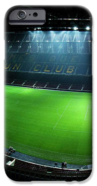 Camp Nou at night iPhone Case by Agusti Pardo Rossello
