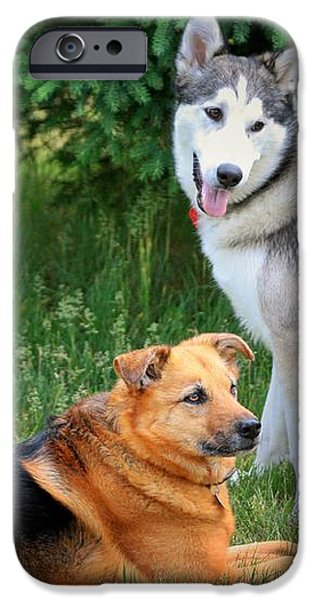 Can we play now iPhone Case by Marjorie Imbeau