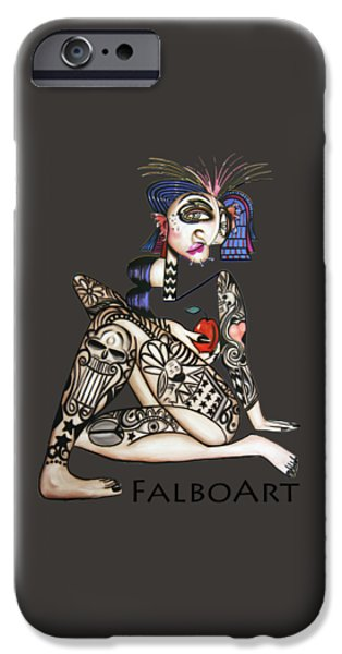 Shirt Digital iPhone Cases - Can You See Me know iPhone Case by Anthony Falbo
