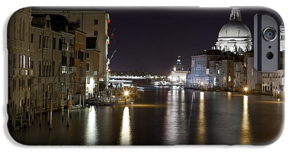Waterway iPhone Cases - Canal Grande - Venice iPhone Case by Joana Kruse