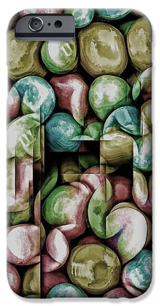 Youthful iPhone Cases - Candy Fun iPhone Case by Pamela Blizzard