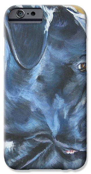 Cane Corso iPhone Case by Lee Ann Shepard