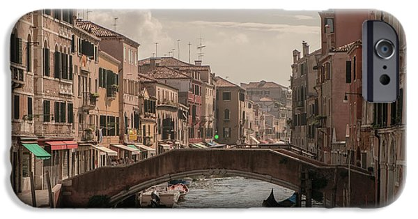 Painter Photo Photographs iPhone Cases - Cannaregio iPhone Case by Giuseppe Mauro Panzani