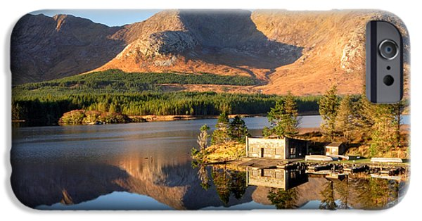 Canoe iPhone Cases - Canoe Club in Connemara Ireland iPhone Case by Pierre Leclerc Photography