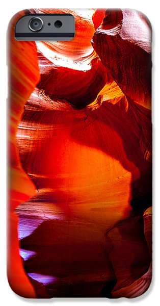 Strategy iPhone Cases - Canyon Shute iPhone Case by Az Jackson