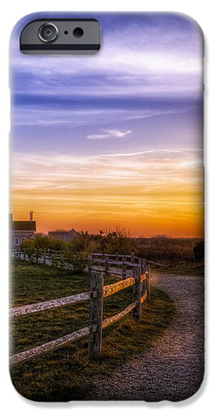 Cape Cod Light iPhone Case by Mark Papke