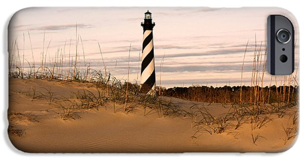 Cape Lookout iPhone Cases - Cape Hatteras Lighthouse iPhone Case by Tony Cooper