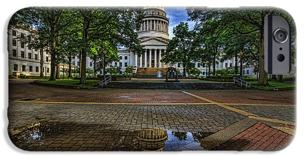 July iPhone Cases - Capitol Reflection  iPhone Case by John  Hannan