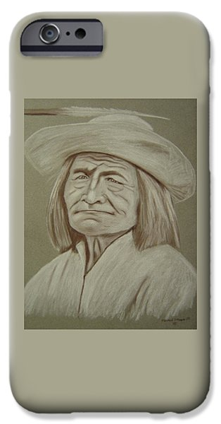 Grand Canyon Pastels iPhone Cases - Captain Bill Burro-Havasupai iPhone Case by Edward Stamper