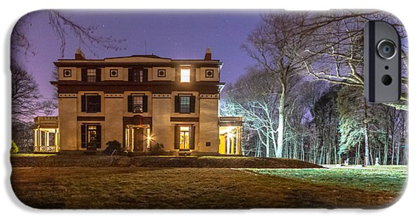 Boston Ma iPhone Cases - Captain Robert Bennet Forbes House Museum iPhone Case by Brian MacLean