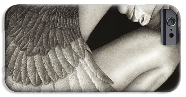 Figures iPhone Cases - Captivity iPhone Case by Pat Erickson