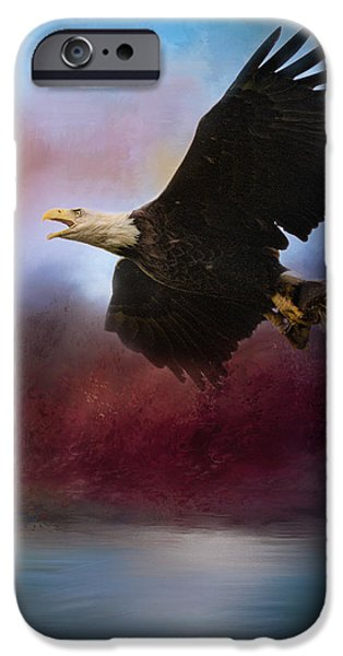 Nation iPhone Cases - Captured At Dawn iPhone Case by Jai Johnson