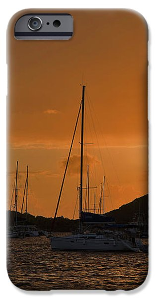 Caribbean Dawn iPhone Case by Louise Heusinkveld