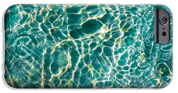 Abalones iPhone Cases - Caribben Waters iPhone Case by Karen Wiles