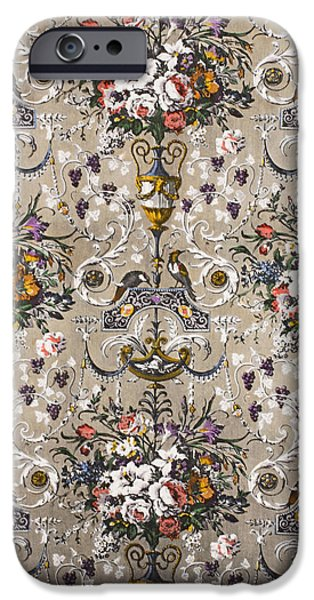 Flora Drawings iPhone Cases - Carlton House iPhone Case by Harry Wearne