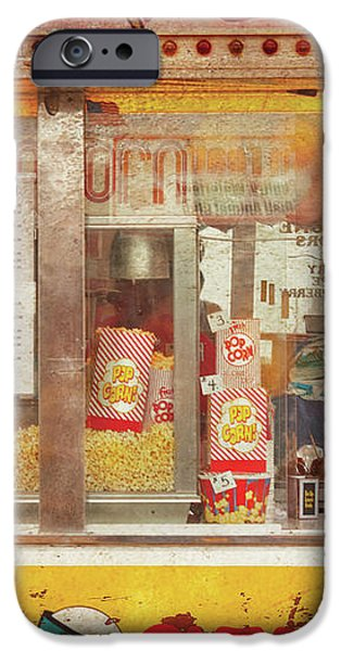 Carnival - The Candy Shack iPhone Case by Mike Savad