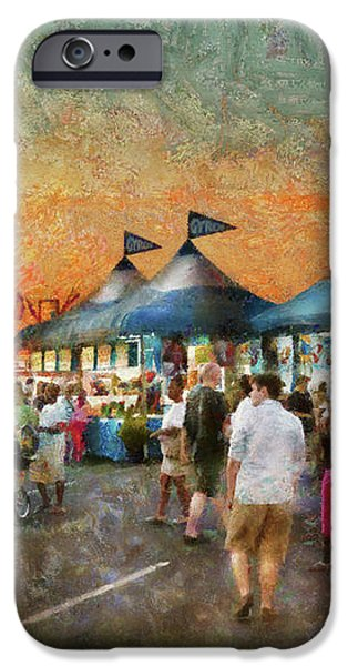 Carnival - Who wants Gyros iPhone Case by Mike Savad