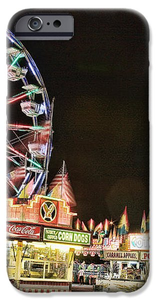 carnival Fun and Food iPhone Case by James BO  Insogna