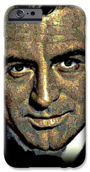 Cary Grant iPhone Case by WBK