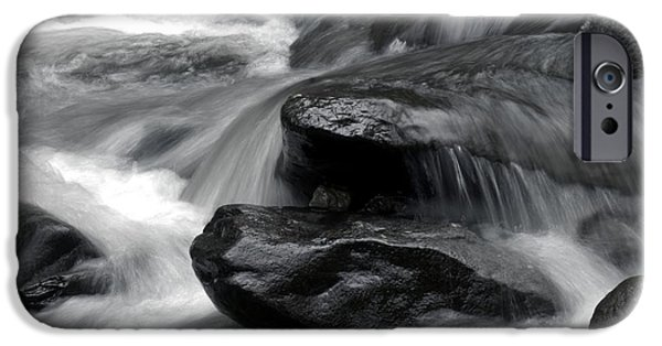 D.c. iPhone Cases - Cascades at Rock Creek iPhone Case by Michelle Neidigh