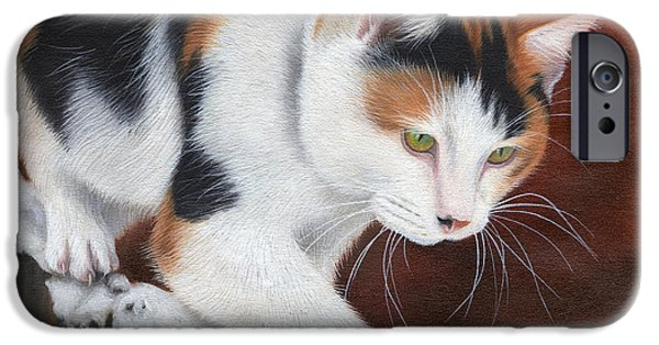 Recently Sold -  - Small iPhone Cases - Cassie iPhone Case by Sarah Stribbling