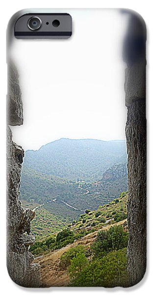 Particular Paintings iPhone Cases - Castle I  iPhone Case by Hilde Widerberg