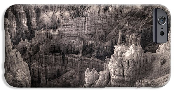 Sand Castles iPhone Cases - Castles Made of Sand in the Hoodoos  iPhone Case by William Fields