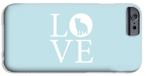 Owner Digital iPhone Cases - Cat Love iPhone Case by Nancy Ingersoll