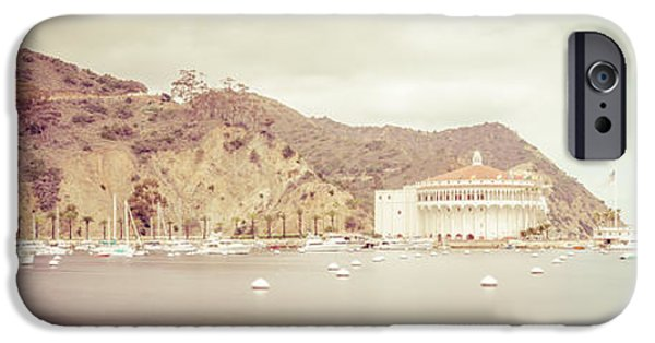 Santa iPhone Cases - Catalina Island Panorama Picture of Avalon Bay iPhone Case by Paul Velgos