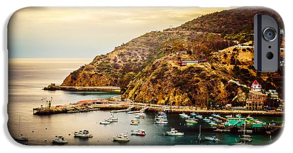 Morning iPhone Cases - Catalina Island Sunrise Picture iPhone Case by Paul Velgos