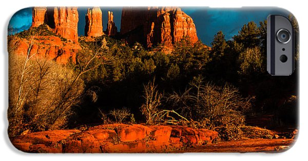 Cathedral Rock iPhone Cases - Cathedral Rock 4 iPhone Case by Ben Graham